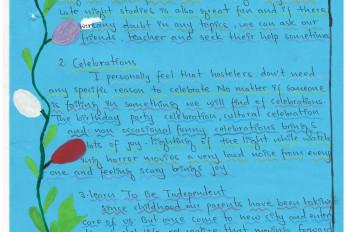 Appreciate letter from children